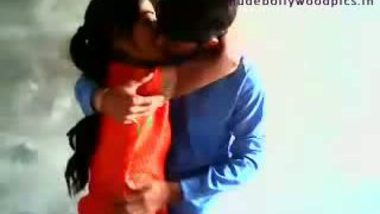 Indian girlfriend get kissed and by his goyfriend