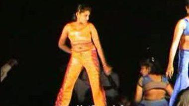 Telugu Hot Girls Night stage dance 8