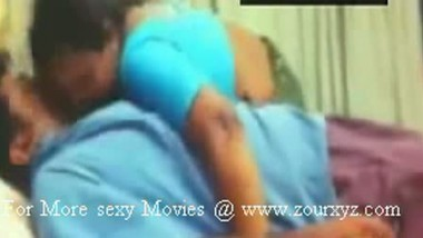 aunty suhag raat night blue hot scene