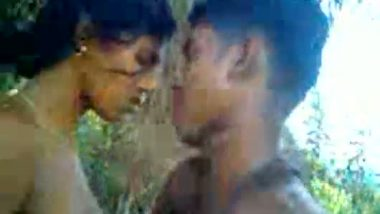 Village girl hot outdoor sex with lover