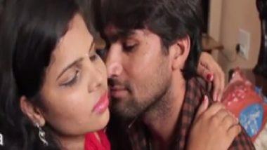 Hyderabad village girl doing romance in Bollywood masala