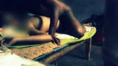 Village girl Surabi's sex play with returning brother