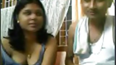 Desi couple giving a show on webcam