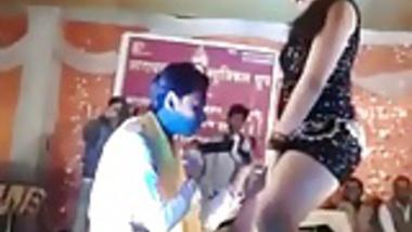 Naughty Indian dance show