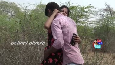 Outdoor romance with girlfriend in bollywood masala