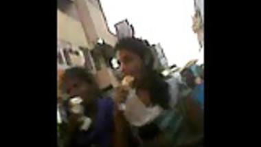 desi girls friend with ice cream