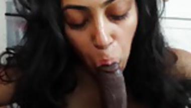Horny desi girl bowjob with cum part 4