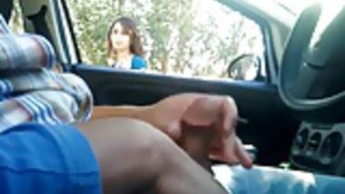 Arab Boy Flashing circumcised muslim penis to Cute girl