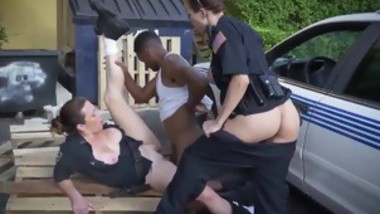 Fake cop big tits blonde and police anal threesome I will cat
