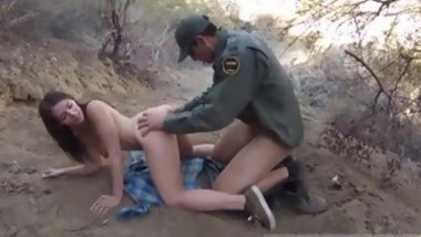 Cop fucks milf xxx Mexican border patrol agent has his own wa