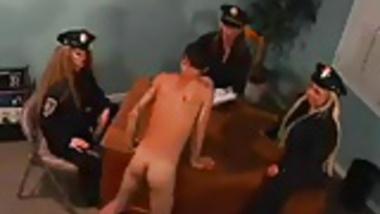 CIA Yankee American Copwomen feminize Arab Terrorist