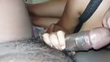 me sucking client cock