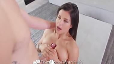 Tiny4K - Hot and flexible brunette broad Leah Gotti likes fucking