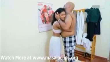 Telugu young maid's hidden cam sex MMS