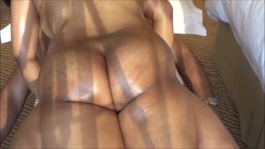 Big ass woman riding a dick in the resort