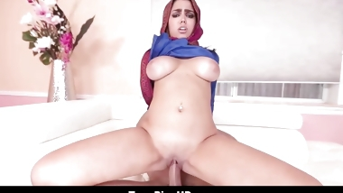 Virgin Muslim Teen With Big Tits Creampie