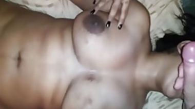 Indian gf give nice bj