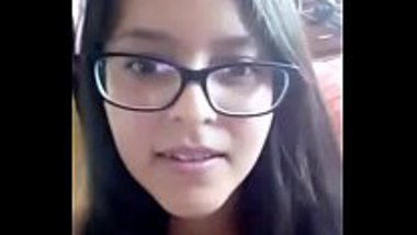 Desi geek teen stripping for her boyfriend