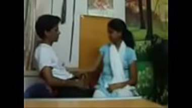Sexy Kannada school girl having an intimate time