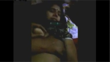 Sexy Kannada Bhabhi Boob Pressed And Banged