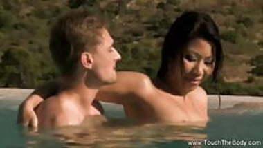 Erotic Nuru Massage MILF Outside
