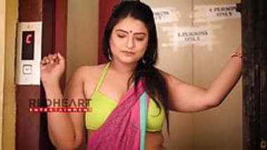 Sneha Saree lover Red heart entertainment