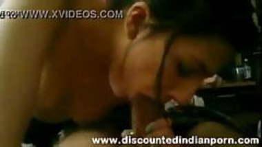 Indian celebrity binney Sharma blowjob
