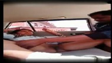 Indian Housewife's Hot MMS With Family Friend In Car