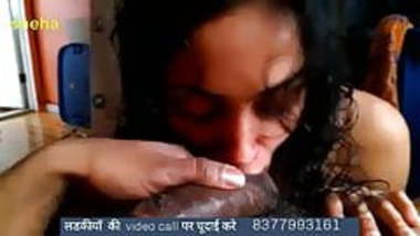 desi girl sneha sucking long cock lover