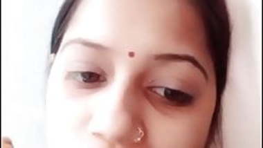 Indian beautiful married aunty in imo video call