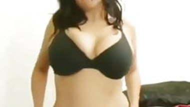 Sexy Indian girl strip dancing