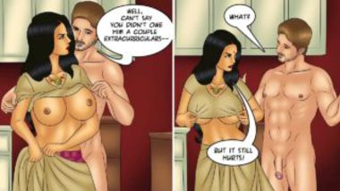 Savita Bhabhi Comics Sex Story – Valentine's Delight
