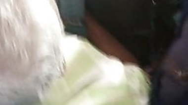 tamil hot big boobed college girl teasing oldman in bus:2