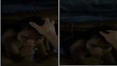 Indian desi hot nri college girl blowjob cum swallow
