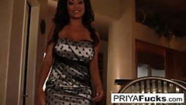 Priya Rai makes herself all hot and bothered with her vibrator
