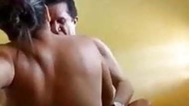 Natural Tits Indian GF Fucks With Boyfriend In The Bathroom