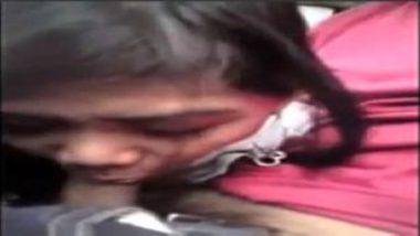 Indian Teen Enjoying Sex Inside Car