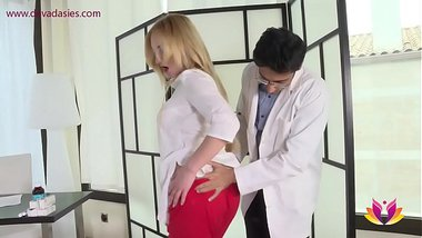 Doctor Niks Indian fucks impotent patient's wife