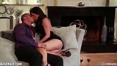 Allie Haze and India Summer in a 3Some!