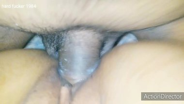 I am fucking my office close friend anu in his house without condom in night