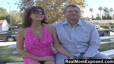 RealMomExposed - Hubby gets his kick watching wife fuck pro stud