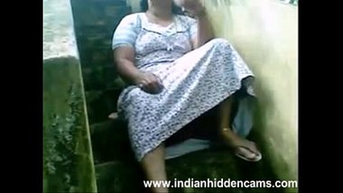 Indian Busty Housewife Exposing Her Pussy Sitting Outside Her House