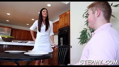 2 ladies are jacking off a man in a spirited trio