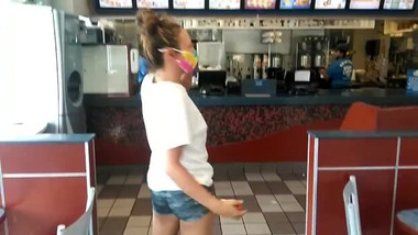 I pick up Indian teen at fast food place, we watch porn and I fuck her rock hard ass
