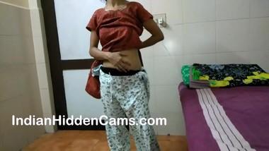 desi bhabhi masturbating fingering herself while home alone
