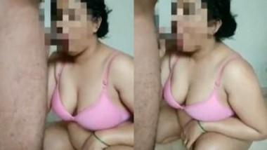 Sexy Desi wife Blowjob