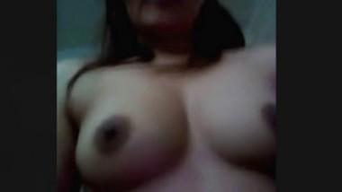 Horny Bhabi Record Nude Selfie