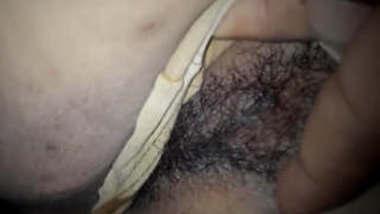 Bhabi Hairy Pussy Fingering