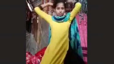 Bangladeshi Cute Village Girl Video For Lover When Sister Was Sleeping