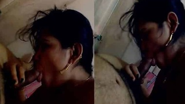Indian couple blowjob MMS video